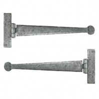 From The Anvil Pewter Patina T Hinge 15inch (pair)