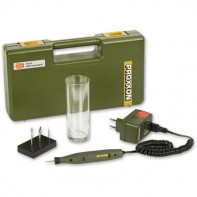 Proxxon Complete Engraving Kit with Tester Glass
