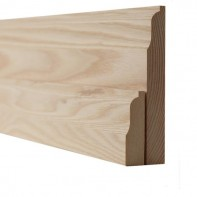 Ash Lambs Tongue Skirting Boards and Architrave