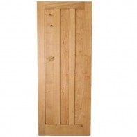 European Oak solid internal 3 panel door