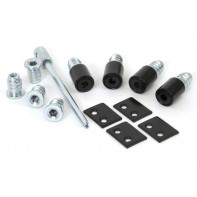 From The Anvil Black Secure Stops (Pack of 4)