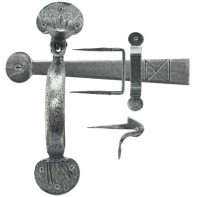 From The Anvil Pewter XL Medium Bean Thumblatch