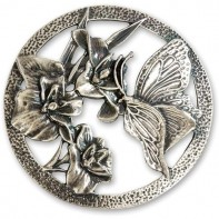 Pewter Lid - Butterfly