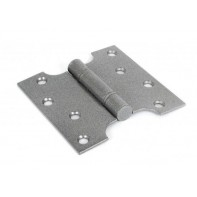 "From The Anvil 4"" x 2"" Ball Bearing Parliament Hinge SS (pair) - Pewter"