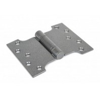 "From The Anvil 4""x3"" Ball Bearing Parliament Hinge SS (pair) - Pewter"