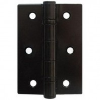 "From The Anvil Black 3"" Ball Bearing Steel Butt Hinge (pair)"
