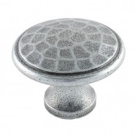 From The Anvil Pewter Patina Beaten Knob 1 1/2inch