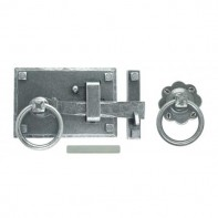 From The Anvil Pewter Patina Cottage Latch LH