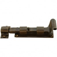 From the Anvil Bronze Cupboard Bolt Straight 4inch