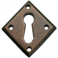 From the Anvil Bronze Diamond Escutcheon