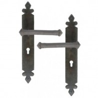 From The Anvil Beeswax Handmade Tudor Unsprung Lever Lock Handle Set