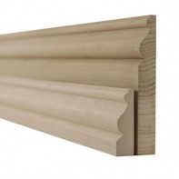 Tulipwood Ogee Skirting Boards and Architrave
