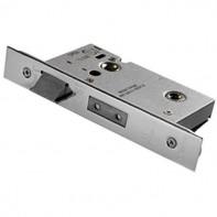 Bathroom Mortice Lock - Satin Stainless Steel