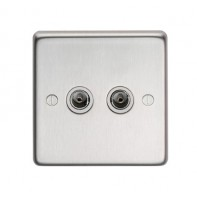 From The Anvil SSS Double TV Socket