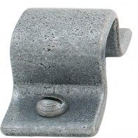 "From The Anvil Pewter Patina Receiver Plate For 4"" Straight Bolt"