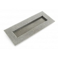 From The Anvil Small Letterplate - Pewter