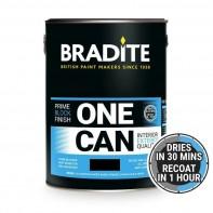 Bradite OC64 One Can Primer and Finish, Black, 1ltr