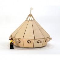 Da Vinci Tank Wooden Kit