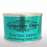 Hampshire Sheen Electric Green Embellishing Wax