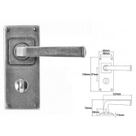 Finesse Lever on Jesmond Bathroom Backplate
