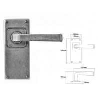 Finesse Lever on Jesmond Latch Backplate