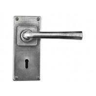 Finesse Lock/Keyhole Lever On Jesmond Backplate (Sprung)