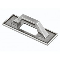 Finesse Tyne Pewter Pull Handle 64mm (inclusive backplate)