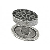 Finesse Sheraton Genuine Pewter Cabinet Knob (Includes PBP012 Backplate)