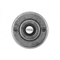 Finesse Genuine Pewter Bell Push Round