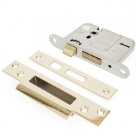 From The Anvil PVD Brass 3inch British Standard 5 Lever Sash-lock