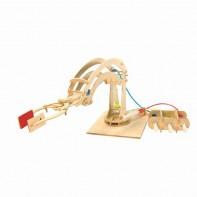 Hydraulic Robotic Arm Wooden Kit