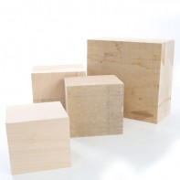 Lime Carving Blanks 120mm thick, Sawn Square