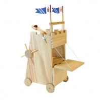 Medieval Seige Tower Wooden Kit