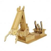 Mega Builder Crane Wooden Kit