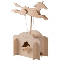 Jumping Horse Wooden Kit