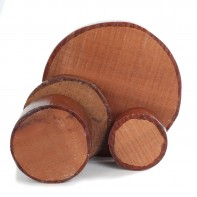 Sapele Bowl Blanks 78mm thick