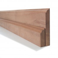 Sapele Ovolo Skirting and Architrave