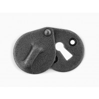 Stonebridge Oval Escutcheon With Cover Forged Steel finish