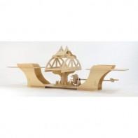 Swing Bridge Wooden Kit