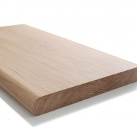European Oak Window Board - Bullnose