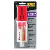 Z-POXY 5 Minute Quickshot syringe