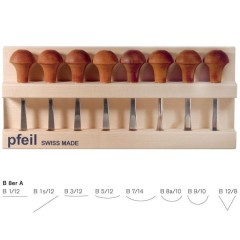 Pfeil 8 Piece Palm Carving Tool Sets