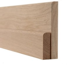 Oak Pencil Round Skirting and Architrave