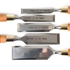 Narex Premium Polished Bevel Edge Chisels