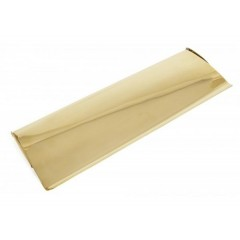 From The Anvil Large Letterplate Cover - Polished Brass
