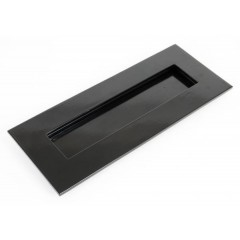 From The Anvil Small Letterplate - Black