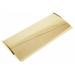 From The Anvil Small Letterplate Cover - Polished Brass