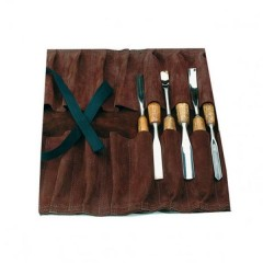 Narex 14 Pocket Leather Tool Roll