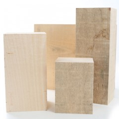 Lime Carving Blanks 120mm thick, Sawn Rectangles