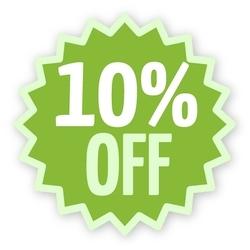 10% off Bessey